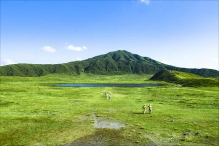 熊本・阿蘇は標高が高く過ごしやすい地域